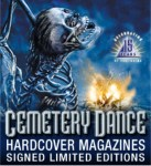 Cemetery Dance Hardcover Magazines
