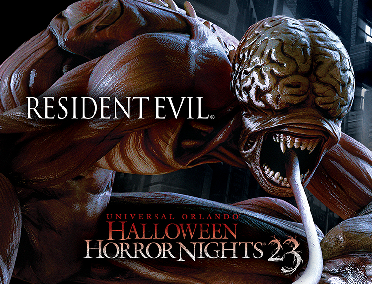 HORROR VIDEO GAME SERIES RESIDENT EVIL COMPLETES INTENSELY TERRIFYING LINEUP FOR  UNIVERSAL ORLANDO'S HALLOWEEN HORROR NIGHTS 23