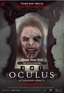 Oculus scary selfie