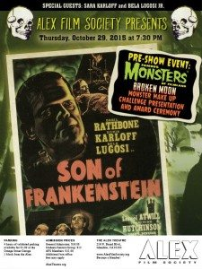 If You're In Glendale, CA You'll Want To Check Out This 'Son Of Frankenstein' Screening!