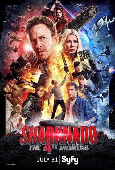 'Sharknado: The 4th Awakens' Official Poster Art is Kinda Epic!