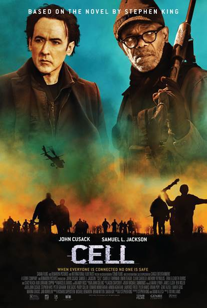 Home Release Details For Stephen King's 'Cell'
