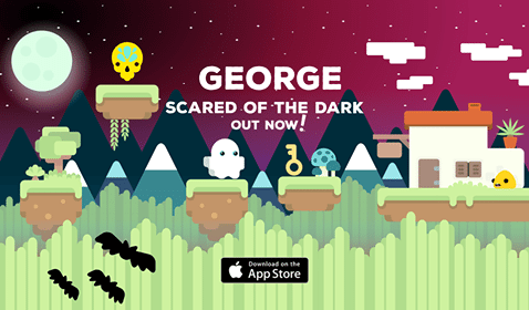 Get 'George: Scared of the Dark' on iOS Now!