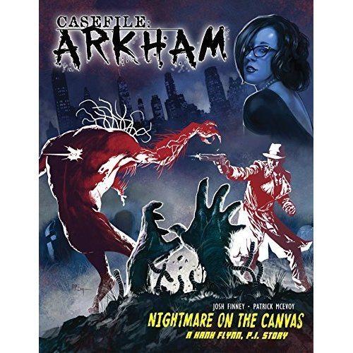 Exclusive Interview with 'Casefile: ARKHAM' Creators Josh Finney and Patrick McEvoy!