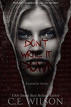 Don't Write it Down: A Rainbow Noir Novel – Book Review