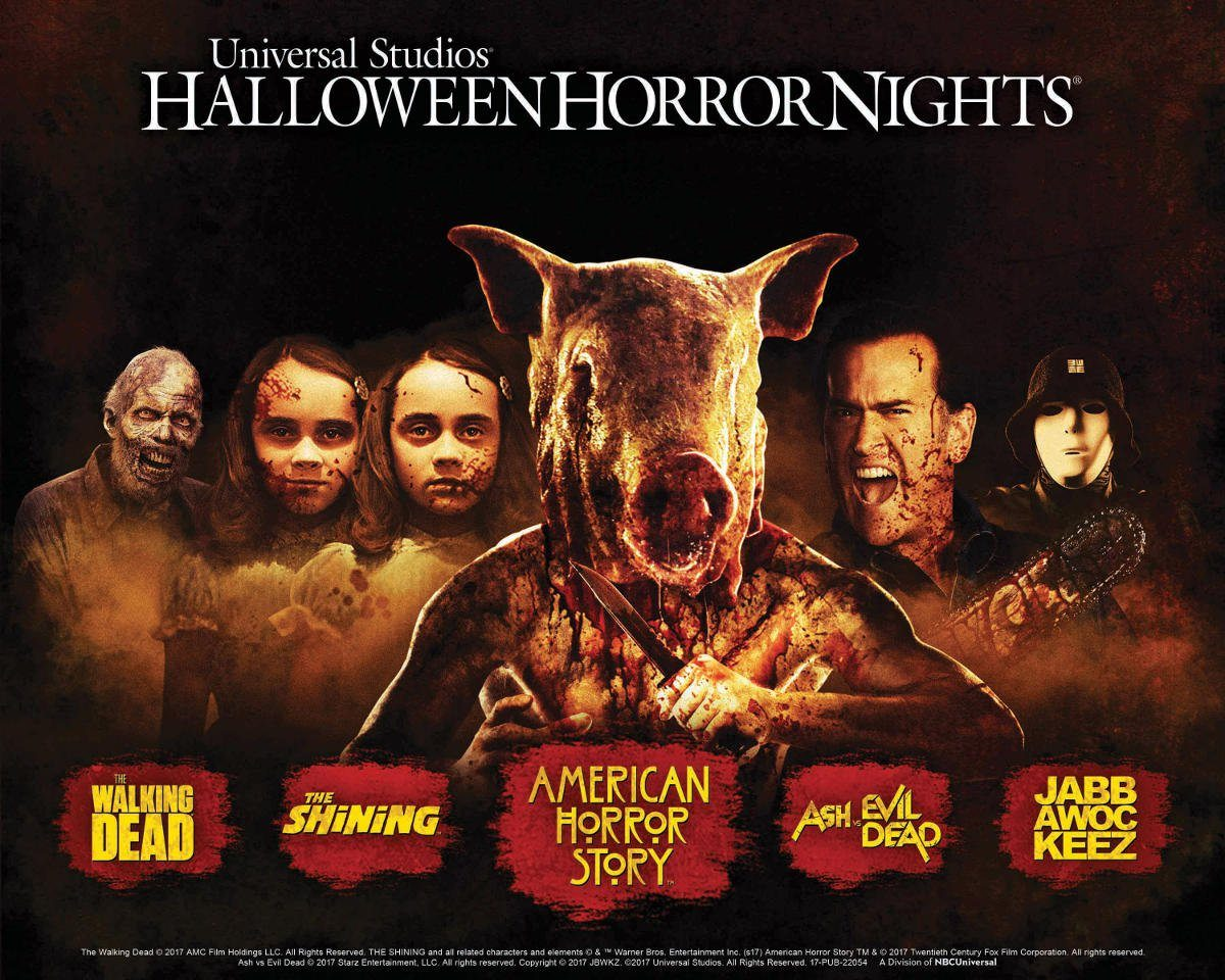 the preview is out for 'halloween horror nights 2017!'