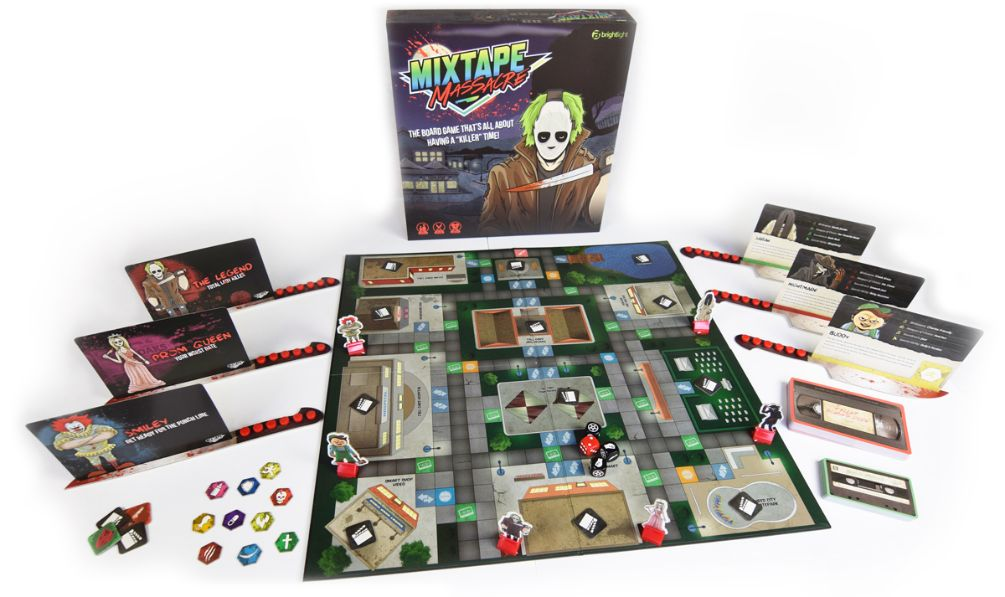 Mixtape Massacre – Board Game Review