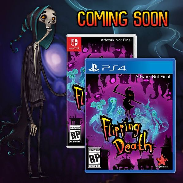 'Flipping Death' Comes Alive in August 2018