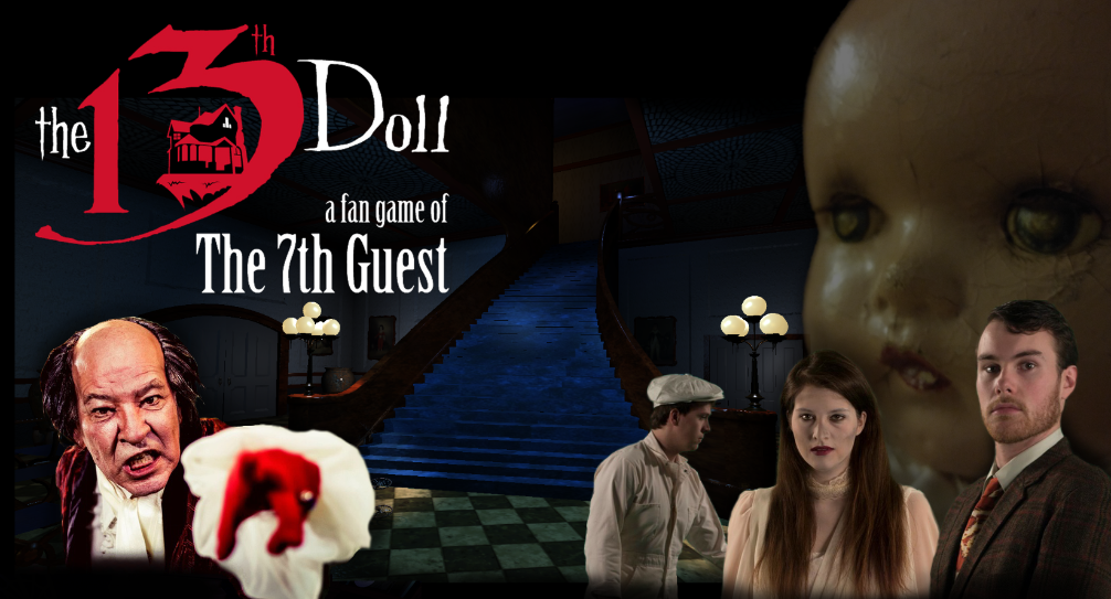 'The 7th Guest' Returns with 'The 13th Doll: A Fan Game of The 7th Guest'