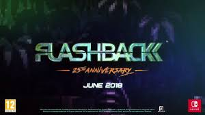 'Flashback' Available on Nintendo Switch June 19th