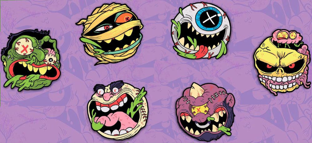 Cavitycolors Goes Mad with Officially Licensed 'MADBALLS' Patch Collection