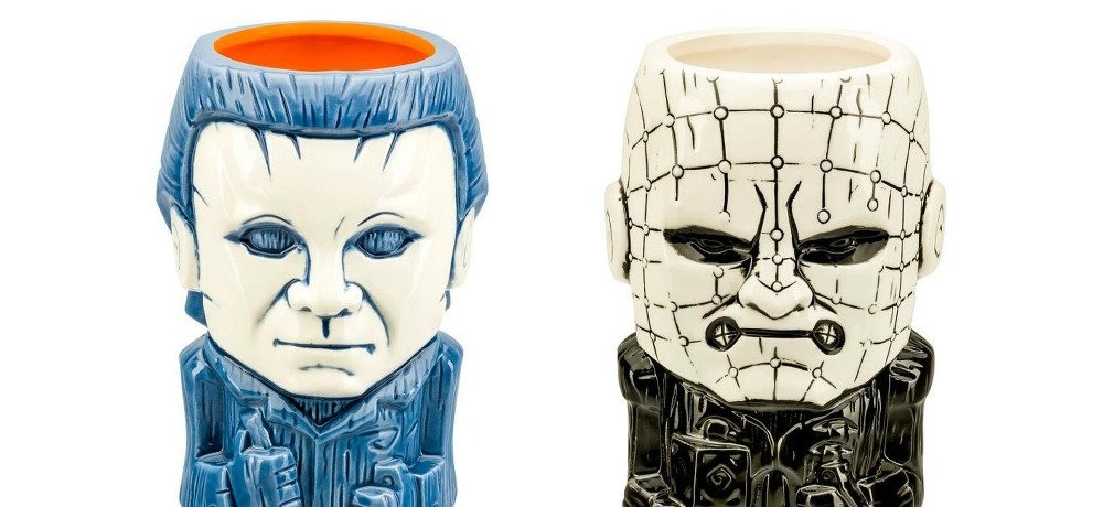 Fall 2018 Movie Preview FYE to Release New Horror Tiki Mugs from Beeline Creative, Including Michael Myers and Pinhead!