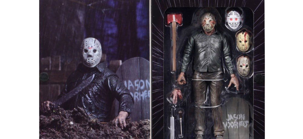 """NECA Reveals the Packaging for 'Friday the 13th V: A New Beginning' """"Dream Sequence"""" Jason Figure"""