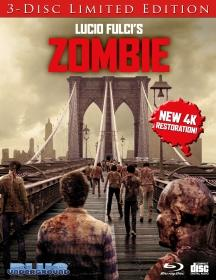 'Zombie' 40th Anniversary Limited Edition, New 4K Restoration