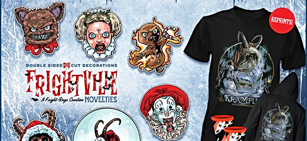 Fright-Rags to Release Officially Licensed Die-Cut Decorations Based on Michael Dougherty's 'Krampus'