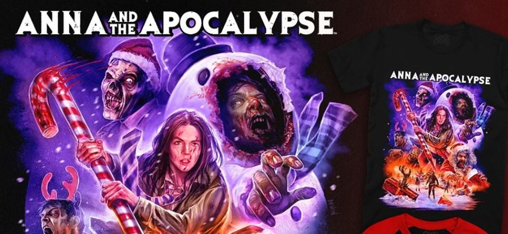 New 'Anna and the Apocalypse' Apparel Unwrapped by Cavitycolors