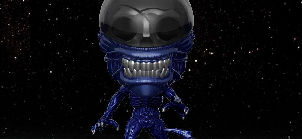 'Alien' 40th Anniversary Blue Metallic Xenomorph Pop! Vinyl Figure Revealed by Funko