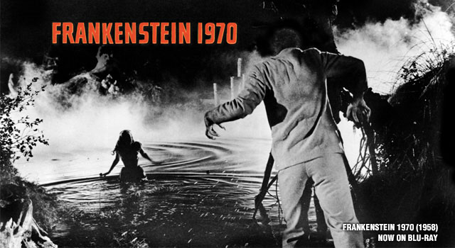 'Frankenstein 1970' (1958) Now Available on Blu-ray