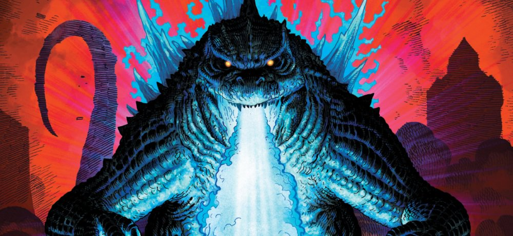 Trailer and Cover Art for Legendary's GODZILLA: KING OF THE MONSTERS Prequel Graphic Novel GODZILLA: AFTERSHOCK