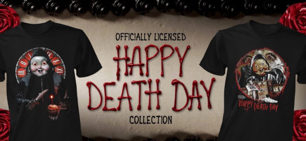 New Apparel Collection from Fright-Rags Celebrates HAPPY DEATH DAY