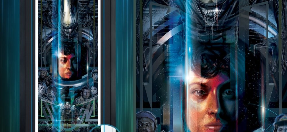 Sideshow Collectibles to Celebrate 40 Years of ALIEN with Limited Edition Art Print by Orlando Arocena