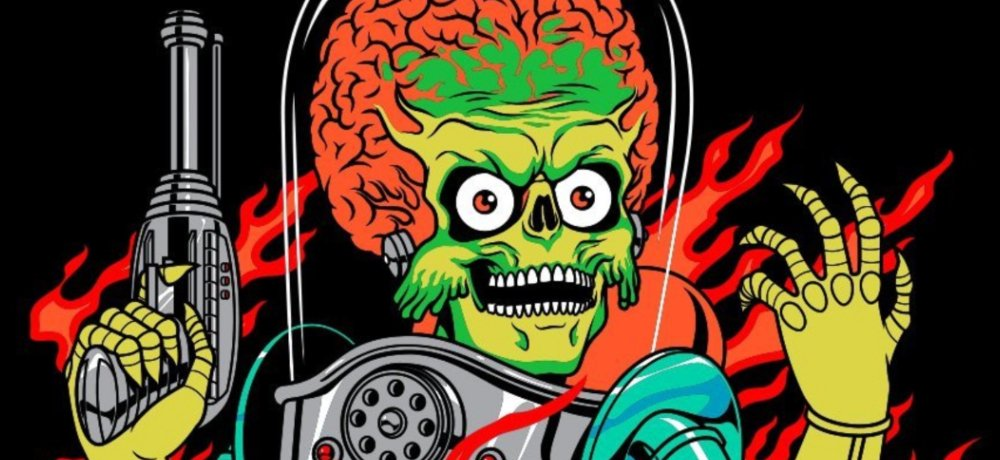 Fright-Rags Celebrates MARS ATTACKS with New Apparel Collection