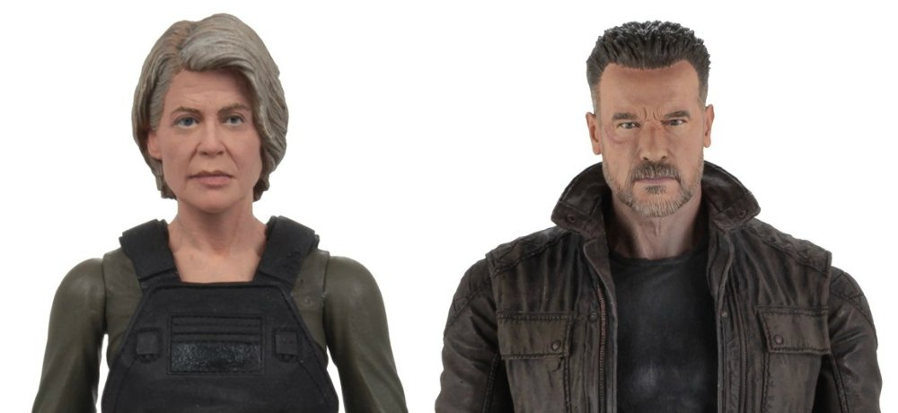 NECA Reveals New TERMINATOR: DARK FATE Figures of Sarah Connor and the T-800