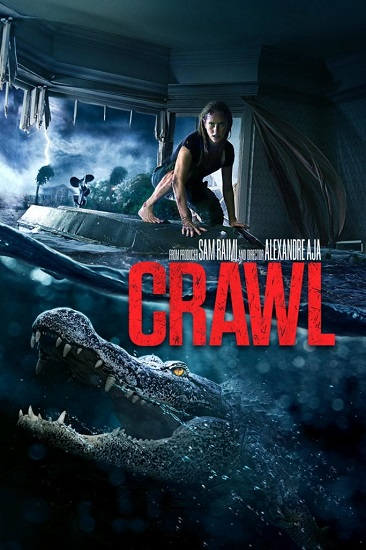 CRAWL Blu-ray, DVD, and Digital Release Details and Cover Art