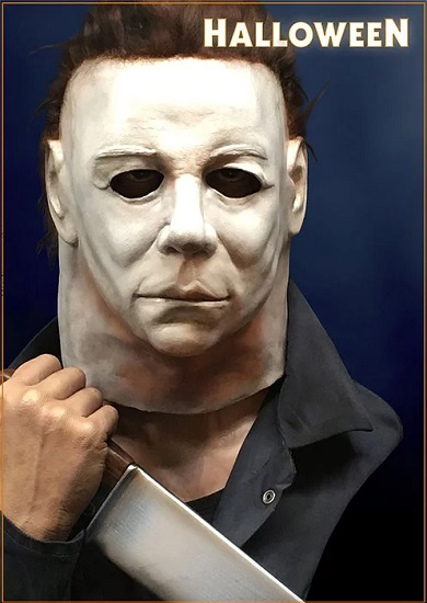 Hollywood Collectibles Group Celebrates John Carpenter's HALLOWEEN with Michael Myers Life-Size Bust