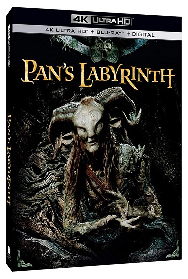 Guillermo del Toro's PAN'S LABYRINTH to be Released on 4K Ultra HD on October 1st