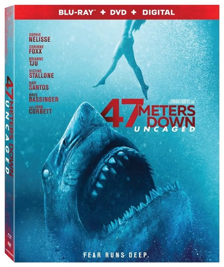 47 METERS DOWN: UNCAGED Coming to Digital 4K Ultra HD on October 29th and Blu-ray, DVD, and VOD on November 12th