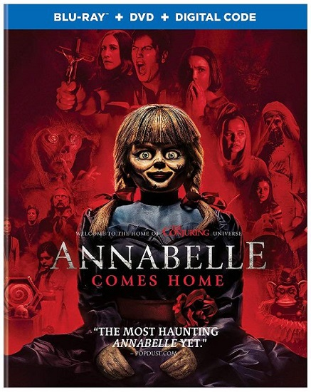 Annabelle Comes Home – Blu-ray/DVD Combo Pack Review