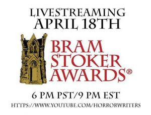 Bram Stoker Awards® Set for Livestreaming