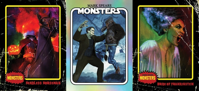 Now On Kickstarter, A Spooky New Retro-Inspired Trading Cards Series!