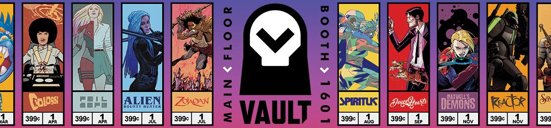 Vault Comics at the 2018 Emerald City Comic Con!