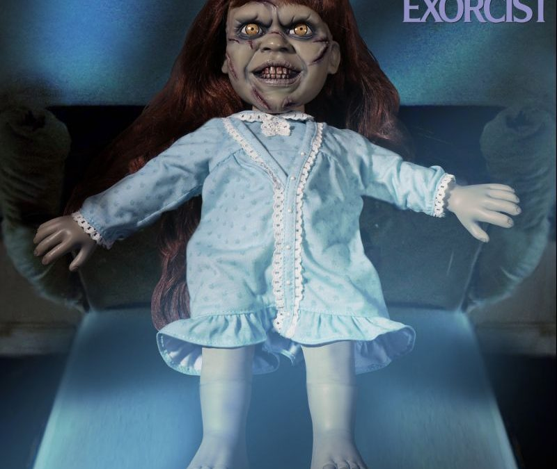 "Mezco Believes ""It's an Excellent Day for an Exorcism"" with This New 'Exorcist' Doll!"