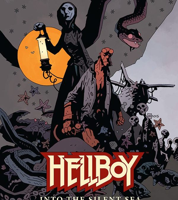 Original 'Hellboy' Graphic Novel To Be Published in 2017 from Dark Horse Comics