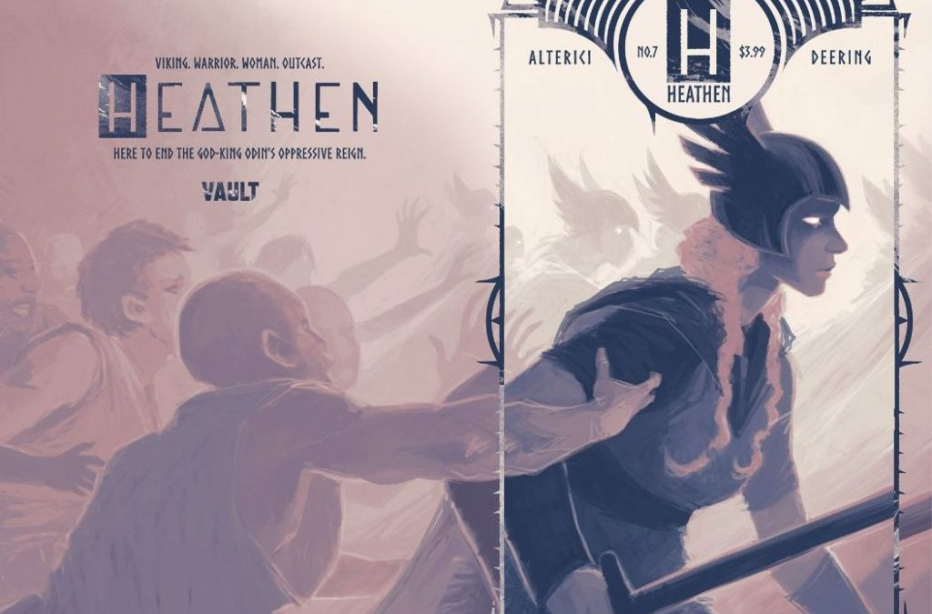 'Heathen' Returns in 2009; Artist Ashley A. Woods Joins Creative Team