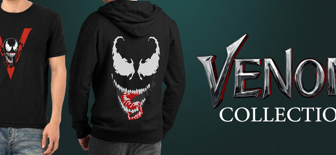 New Venom Shirts Are Out To Bond With Your Closet
