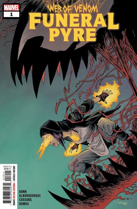 Carnage Ramps Up his Hunt in WEB OF VENOM: FUNERAL PYRE