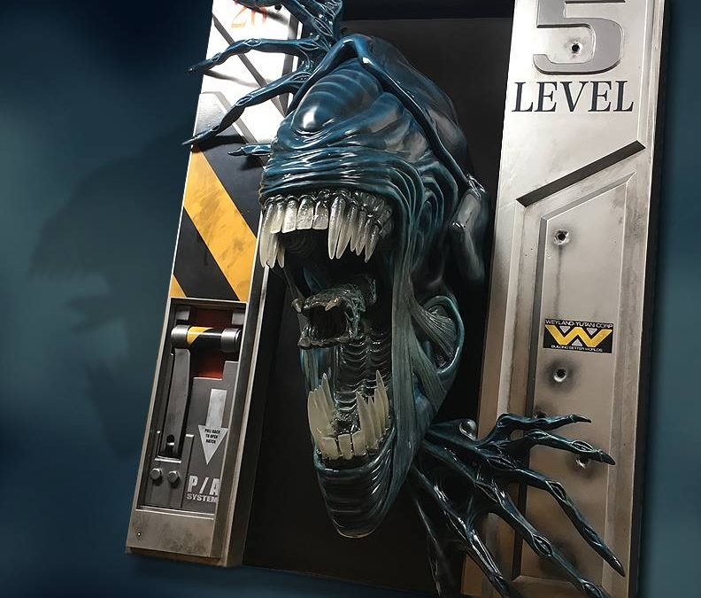 Love 'Aliens?' Mount One on Your Wall!
