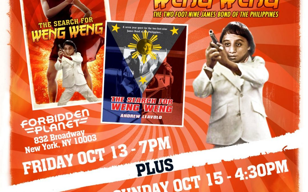 Wild Eye Releasing and Horror Boobs Host 'Weng Weng' Event on Friday the 13th!
