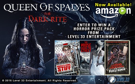 Enter to Win a Horror Prize Pack from Level 33 Entertainment!