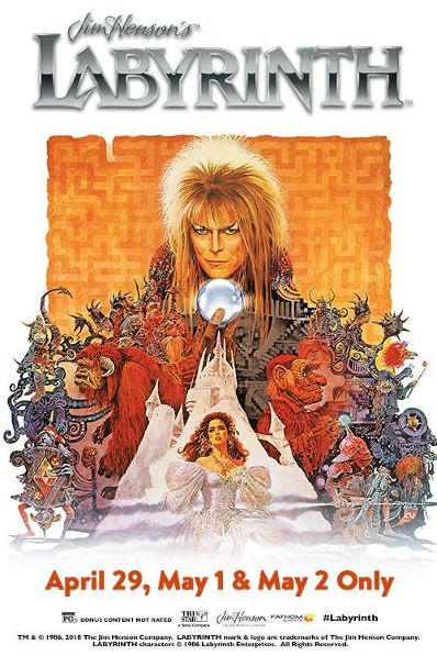 'Labyrinth' is Making Its Way Back to the Big Screen!