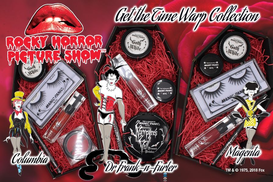 MANIC PANIC(R) Does the Time Warp with 'The Rocky Horror Picture Show' Collaboration