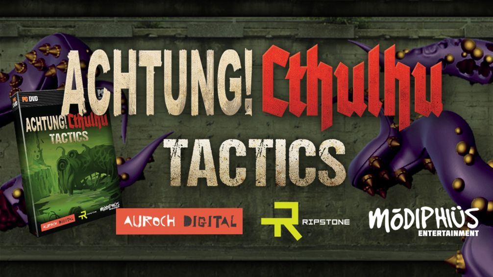 Fight the Good Fight in 'Achtung! Cthulhu Tactics' as the Award-Winning RPG Launches on Console and PC This Year