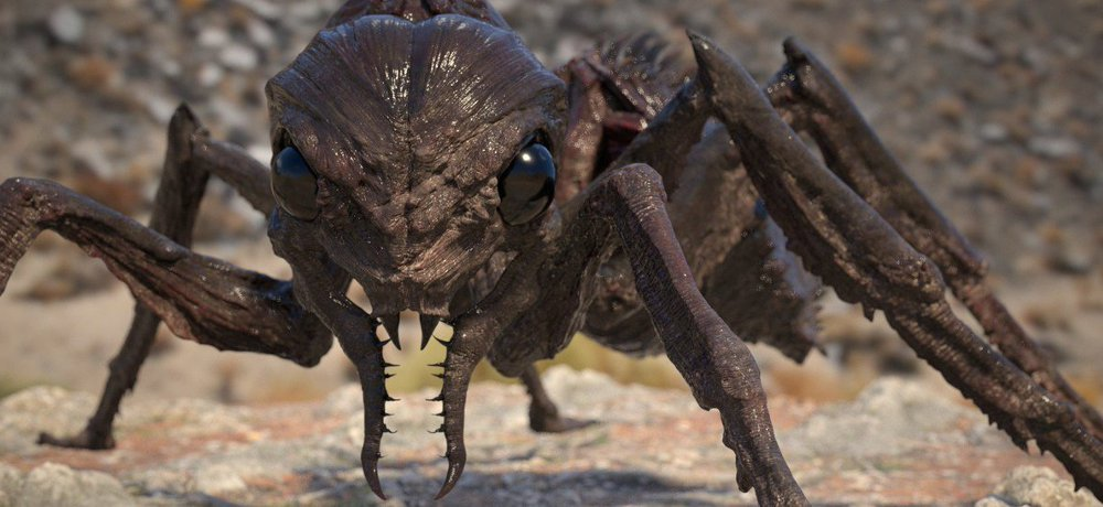 Watch Geared-Up Humans Battle a Giant Ant in our Exclusive Clip from 'It Came from the Desert'