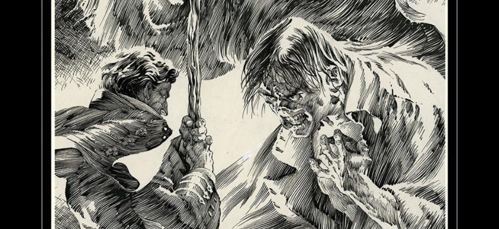Comic-Con 2018: Bernie Wrightson's 'Frankenstein' Artist's Edition Announced by IDW Publishing
