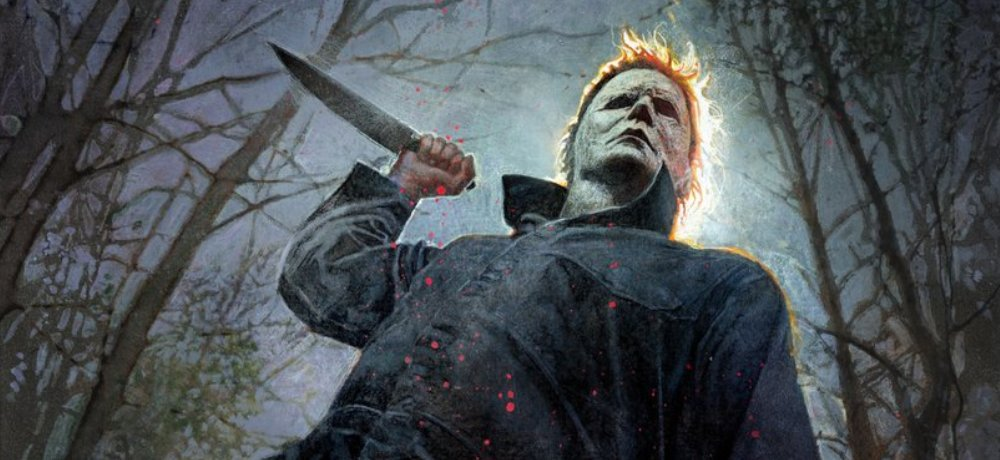 Michael Myers is Ready to Attack in Comic-Con Exclusive Poster for New 'Halloween' Movie