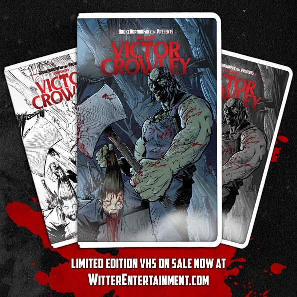 'Victor Crowley' Slashes Onto Limited Edition VHS
